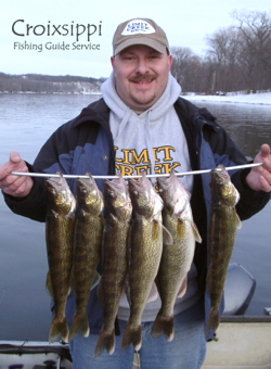 Mississippi RIver Pool 4 walleye limit